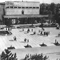 Кинотеатр «Октябрь». г. Южно-Сахалинск.