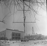 Радиоцентр в г. Южно-Сахалинске.