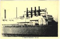Целлюлозно-Бумажный завод Одзи г. Тоехара
