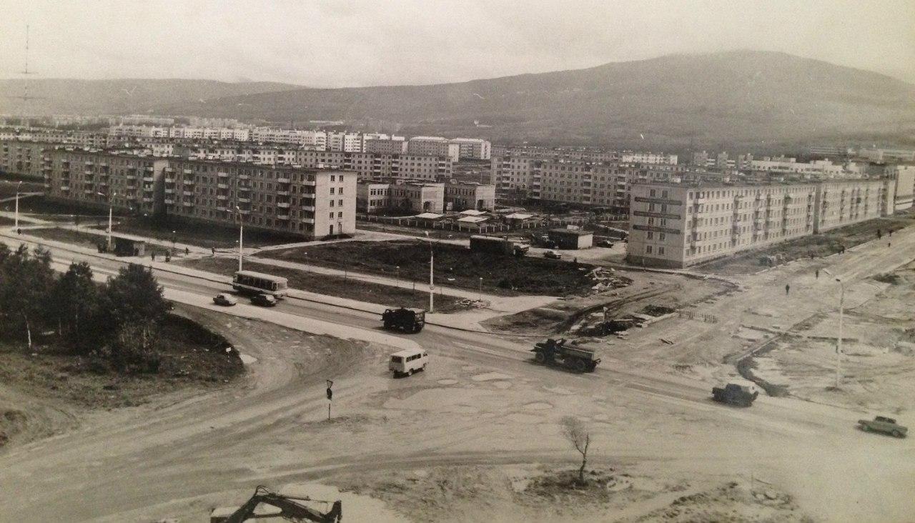 Вид на перекресток пр. Мира и ул. Пуркаева