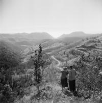 Вид на Холмский (Камышовый) перевал.