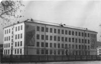 Школа №23 в начале 70-х годов.