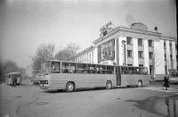 Перекресток улицы Ленина и Коммунистического проспекта.