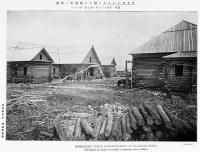 Казармы в стадии строительства во Владимировке.