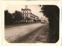 Перекресток улиц Ленина и Южной