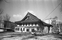 Буддийский храм. Находился ну углы улиц Поповича и Амурской
