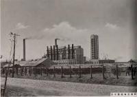 Карафуто. Целлюлозная фабрика в Тойохара