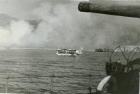 В порту Маока. Период освобождения Южного Сахалина и Курильских островов в августе-сентябре 1945 г.