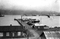 Рыбный порт города Невельск