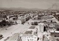 Панорама центрального района г. Южно-Сахалинска. Серия фотографий. Вид на площадь Ленина.