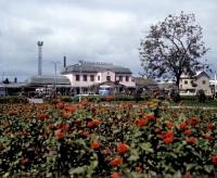 Железнодорожный вокзал в г. Южно-Сахалинске.