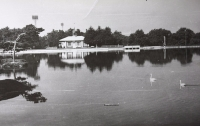 Озеро Верхнее в городском парке КиО.