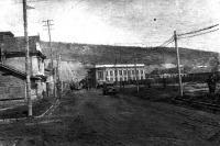 Улица Октябрьская в г. Корсаков