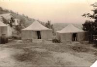 Палаточные домики на турбазе