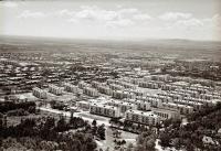 Панорама центрального района г. Южно-Сахалинска. Серия фотографий. Черемушки