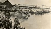 Начало строительства паромной переправы Хомск-Ванино