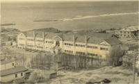 Учебный корпус мореходного училища (ул. адм. Макарова). Начало 50-х годов