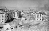 Жилые дома №11, 12 и 14 по улице Комсомольской г. Холмск