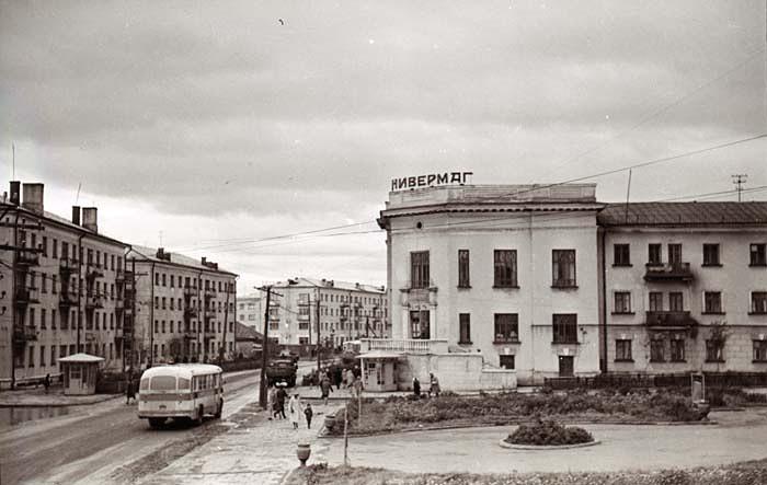 Здание Универмага в г. Холмск