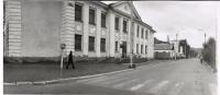 Здание радиотехнического отделения мороходного училища г. Невельск