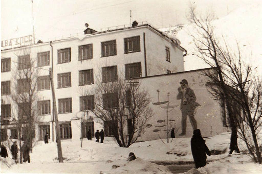Главный корпус мореходного училища г. Невельск