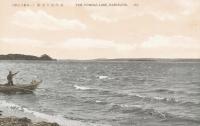 Тоннай (Томунай). Рыбак на берегу озера Тонная (Тунайча)