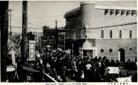 Шествие горожан по улице Сакаэ-чо в Отомари