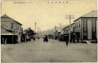 Привокзальная площадь и улица Дзинзя дори в г. Тойохара