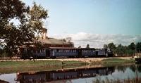 Детская железная дорога в Южно-Сахалинском городском парке культуры и отдыха