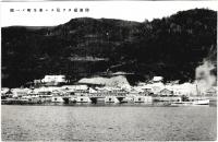 Вид на порт и город Хонто