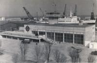 Здание морского вокзала в г. Холмске
