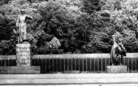 Памятник советским воинам, павшим в боях за освобождение Южного Сахалина и Курильских островов, в городе Южно-Сахалинске