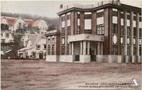 Торгово-промышленная палата Карафуто в г. Одомари. Современная Краснофлотская, район городской поликлиники.