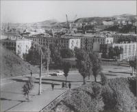 Панорама города, южная часть, подъем по ул. Победы.