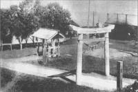Входные ворота синтоистского храма в г. Маока. Южная часть города