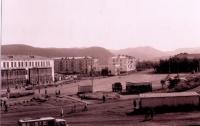 Площадь Ленина в г. Томари