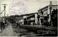 Центральная улица в г. Маока