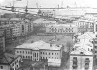 Площадь Ленина города Невельск