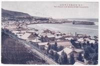 Общий вид на портовый город Маока