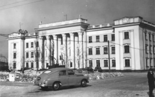 Здание Сахрыбпрома