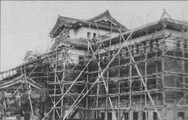 Строительство музея губернаторства Карафуто.