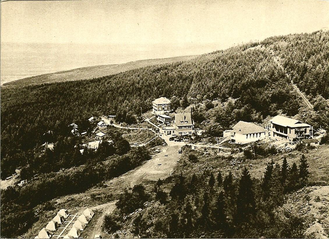 некоторых фото старой гостиницы горный воздух южно сахалинск круго много снега