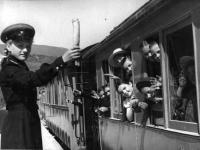 Южно-Сахалинская детская железная дорога.