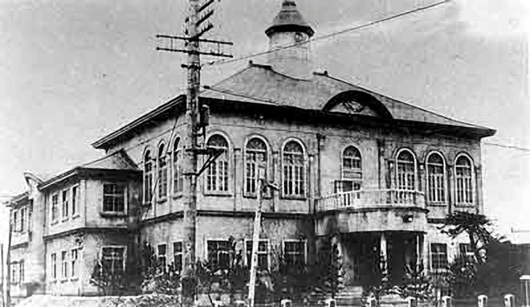 Новое здание мэрии Построено в 1928 г. Год съемки приблизителен.