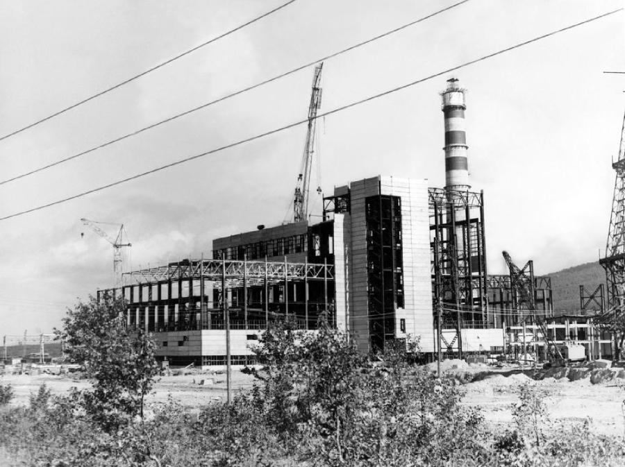 Строительство Южно-Сахалинской ТЭЦ-1