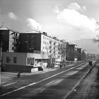 Гастроном на улице Пограничной напротив нынешней Березки