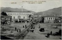 Привокзальная площадь г. Тоёхары.