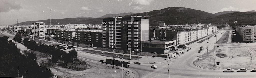 Перекресток пр.Мира и ул.Пуркаева.