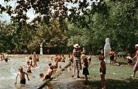 Детский бассейн в городском парке КиО.