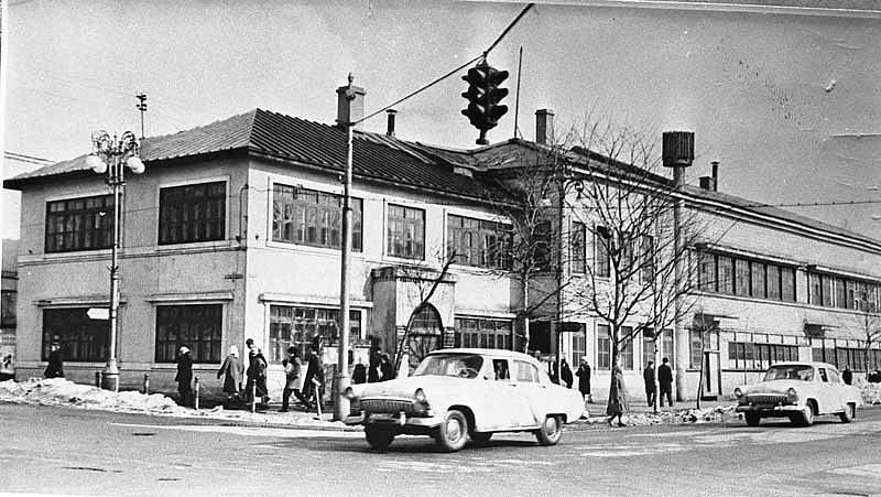 Типография и редакция областных газет. Находилось на перекрестке ул. Ленина и Коммунистического пр-та.